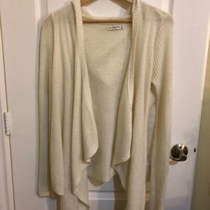 Abercrombie and Fitch hoodie knit cardigan -NEW